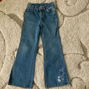 Other - Winnie the Pooh Vintage Embroidered Flare Jeans